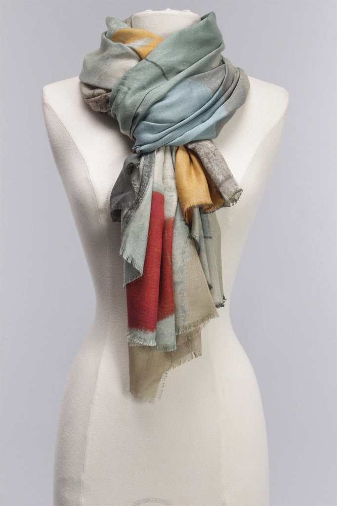 Sinope Scarf in Teal ENGLISH WEATHER Sinope Scart - TEAL