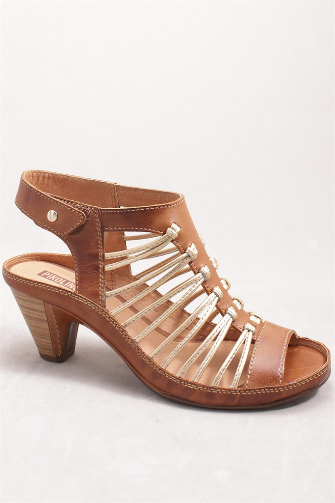 Java Heel in Brandy W5A-0728C1 - BRANDY