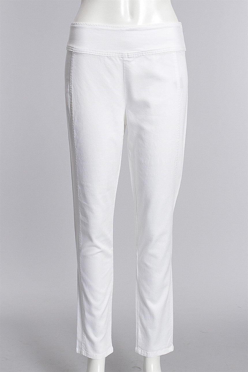 Defining Moment Ankle Pants in White 45834-1429 - WHITE
