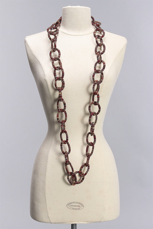 Striped Cotton Rope Chain