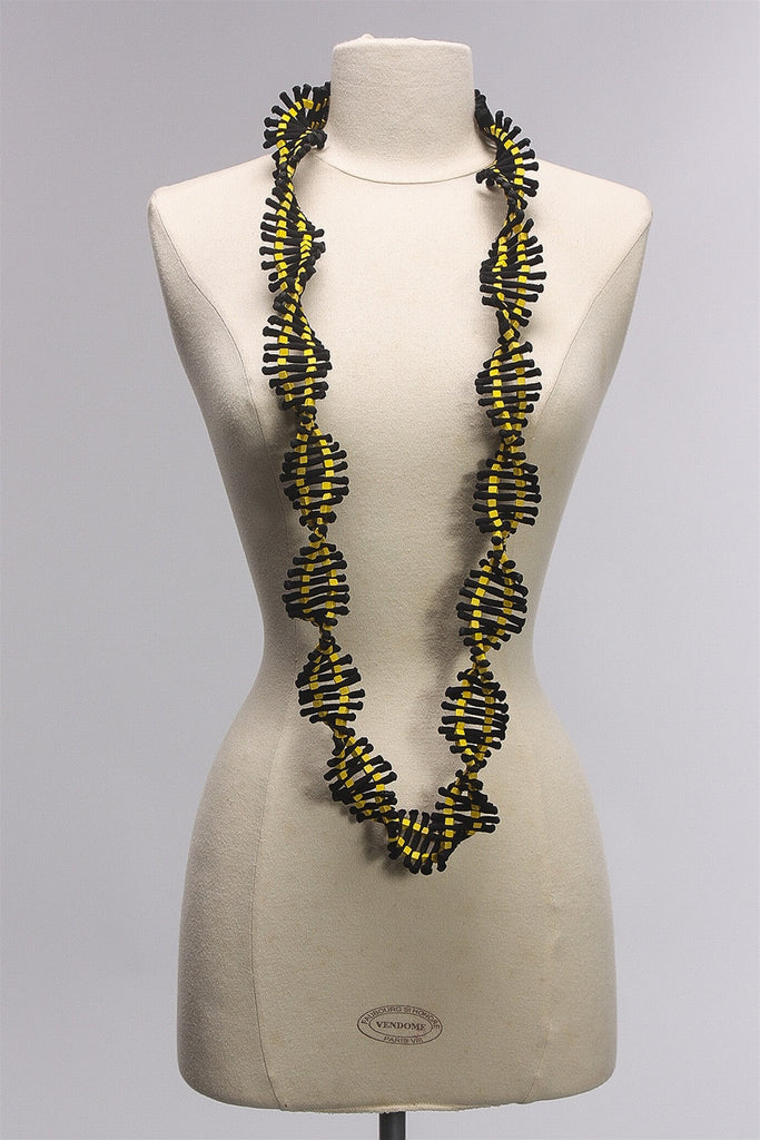 DNA Collection Necklace in Yellow C-NL1688 - YELLOW