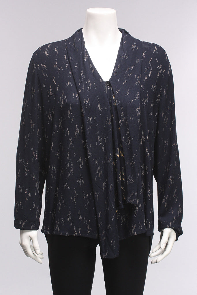Blouse Assia in Midnight
