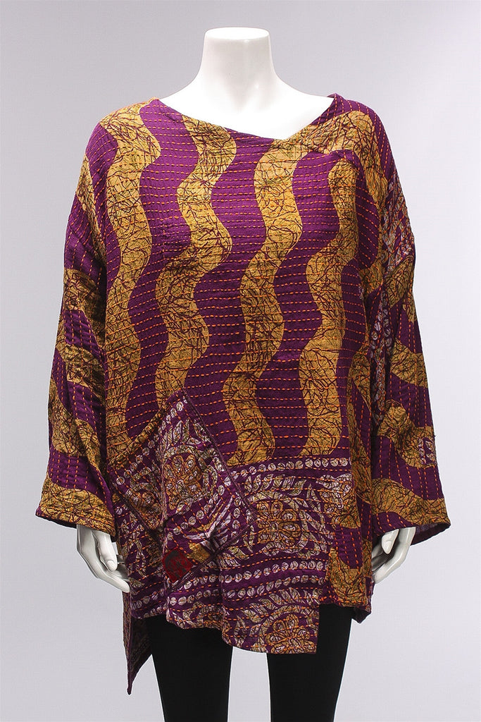 Reversible Kantha Pullover BB2510