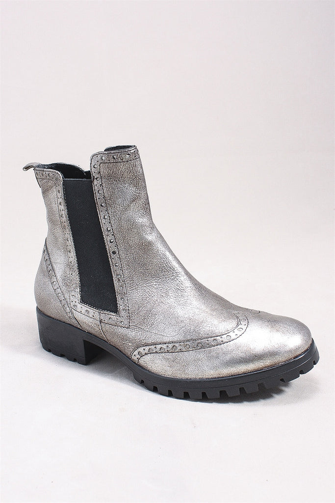 Breanne Boot in Antique Silver SI0150 - ANTSLVR