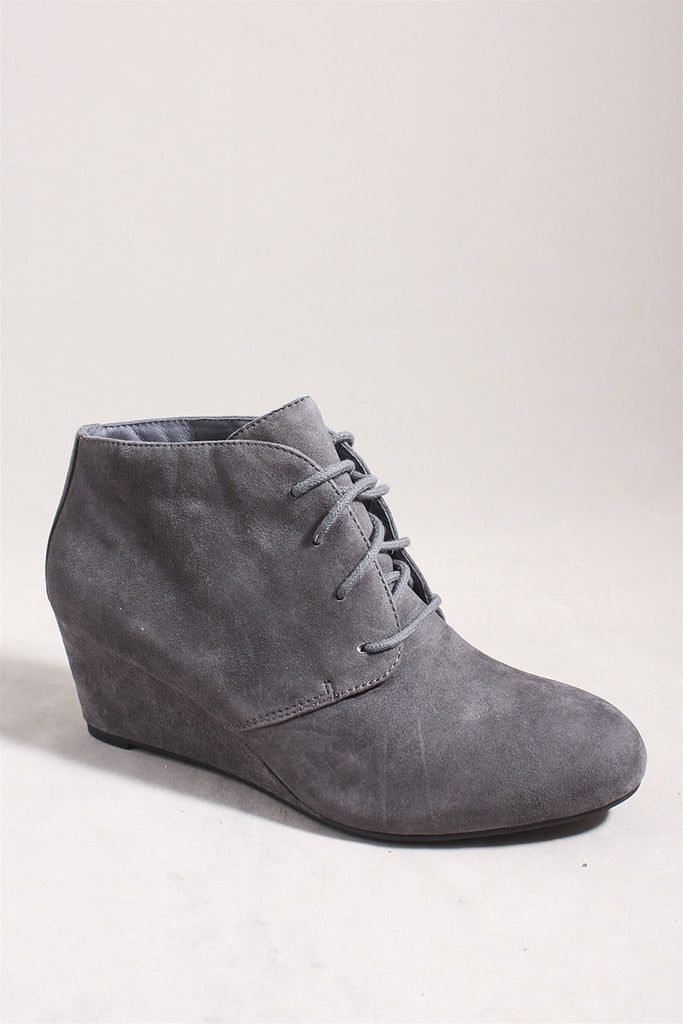 Elevated Becca Bootie in Gray 385BECCA - GREY