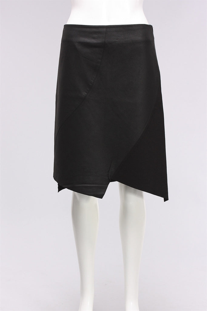 Petal Skirt in Black MTS249 - BLACK