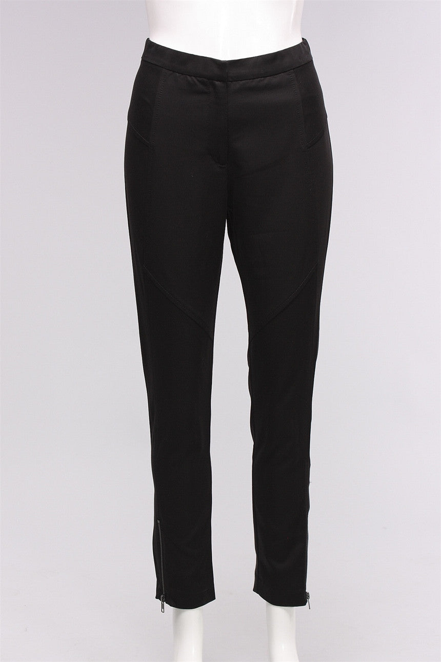 Details Ankle Pants in Black 49036-1437 - BLACK