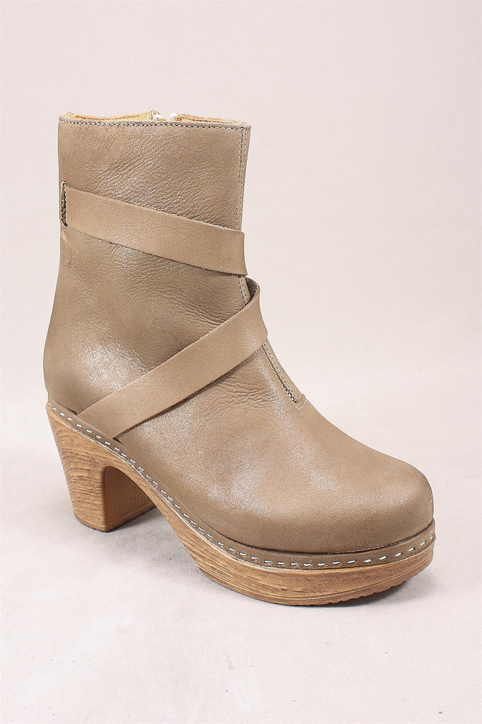 Julia 2 High Heel Boots in Stone 4101  - STONE