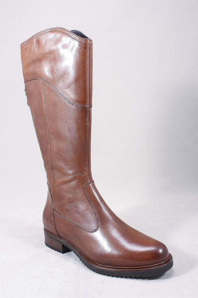Arina Boot in Cognac 25665  - COGNAC