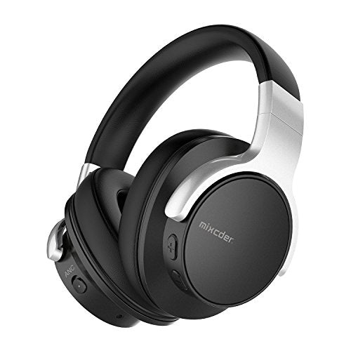 23ebe55a8c4 Mixcder E7 Active Noise Cancelling Bluetooth Headphones with Microphone Hi-Fi  Stereo Headset Deep.