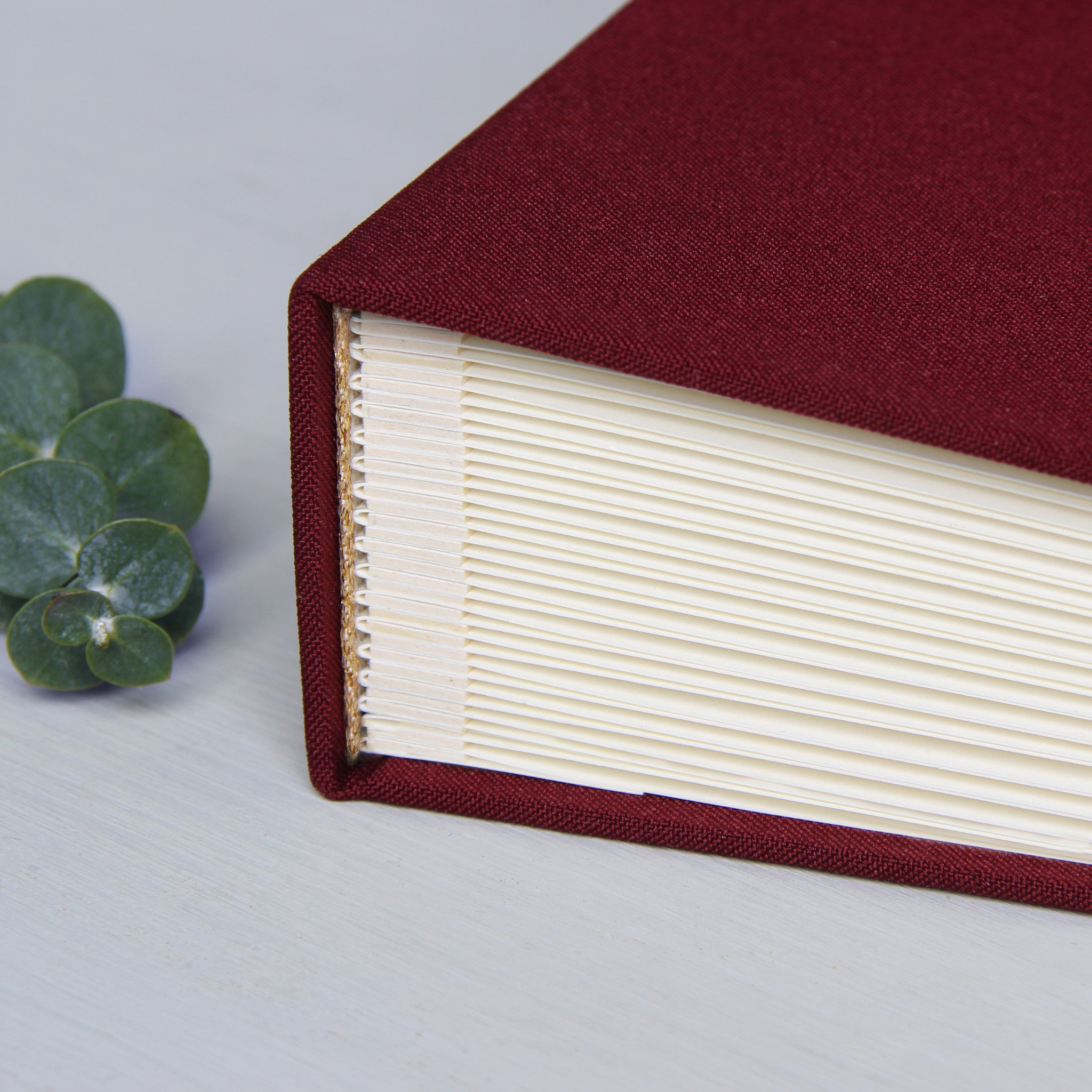 Pocket Guest Book: Instant Wedding Guest Book Album Marsala With Gold