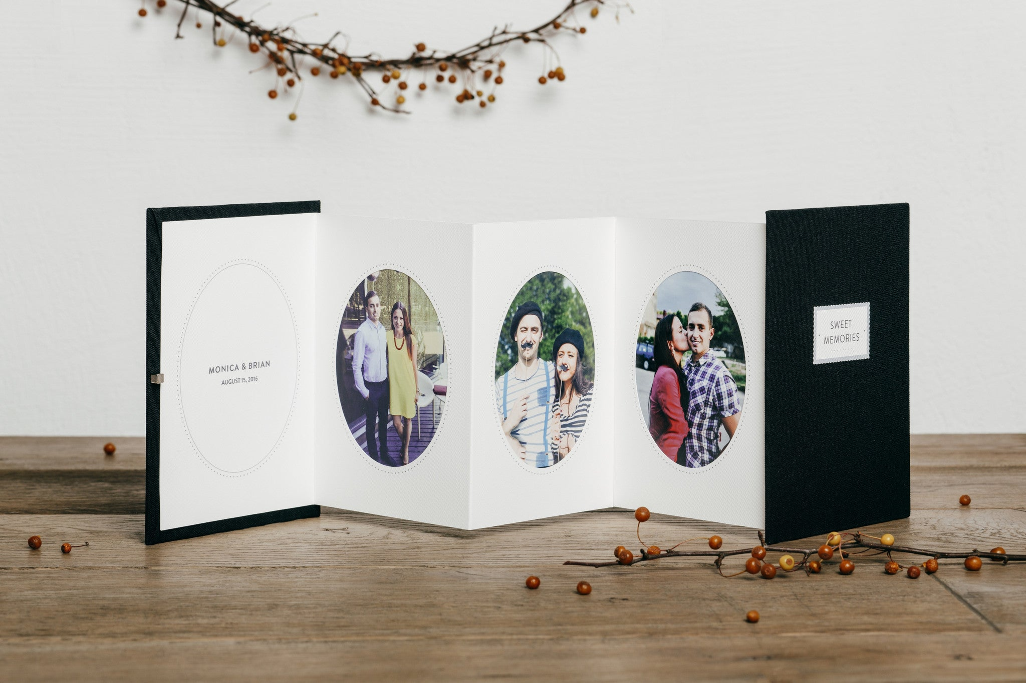 Memories Booklet Mother of the Bride Gift Parents Thank You Parents ...