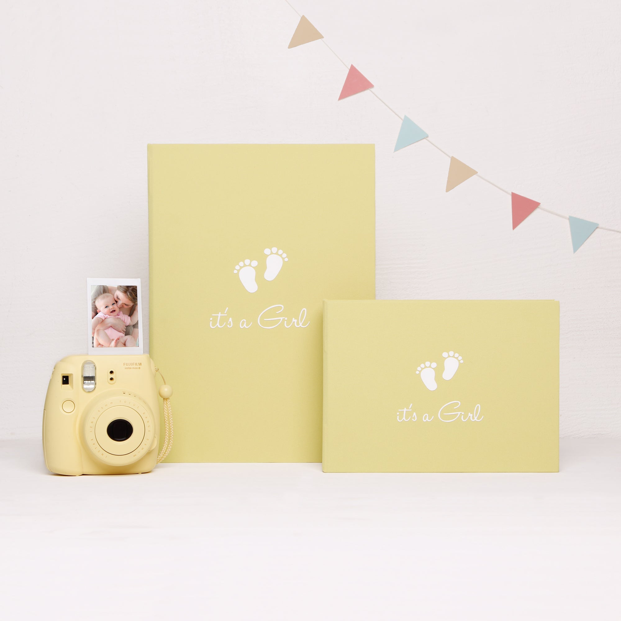 Baby Album Photo Book Its A Girl Children Birthday Album Instax picture album, Kids Album - by Liumy - Liumy
