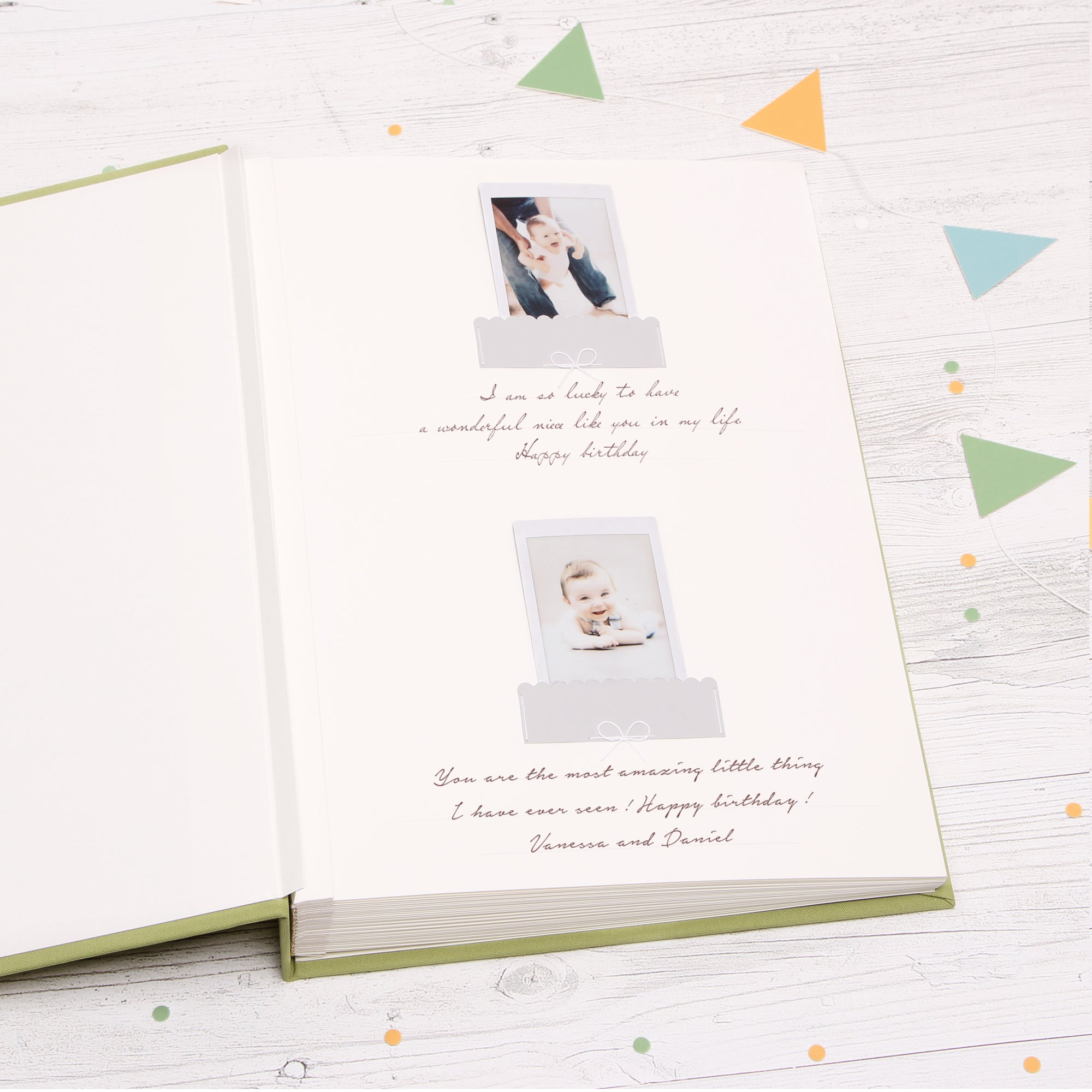 Baby Album Photo Book Its A Boy Children Birthday Album Boys Girls by Liumy - Liumy