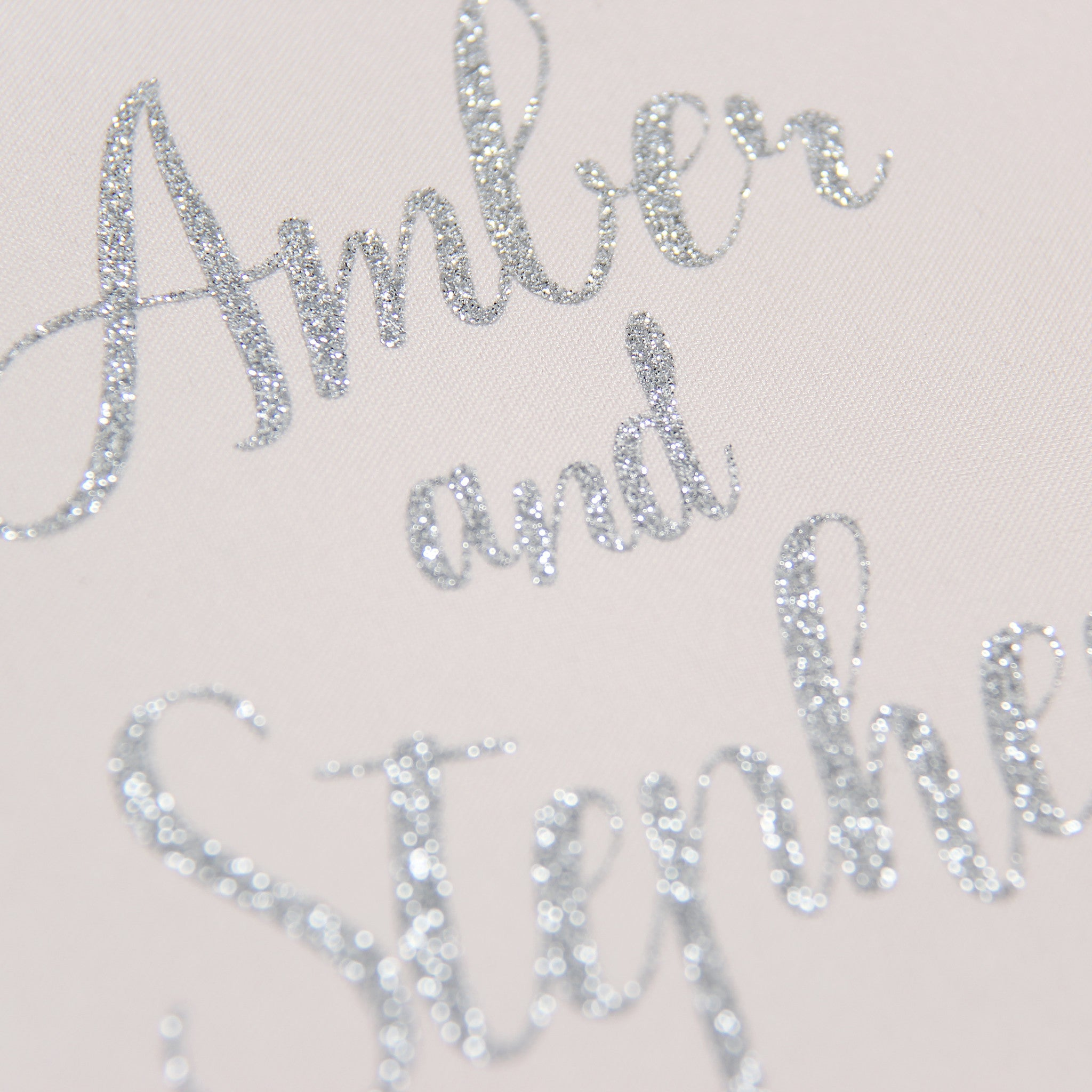 Guest Book Sign in Book Instant Album Cream with Silver Glitter Lettering, Birthday Album by Liumy