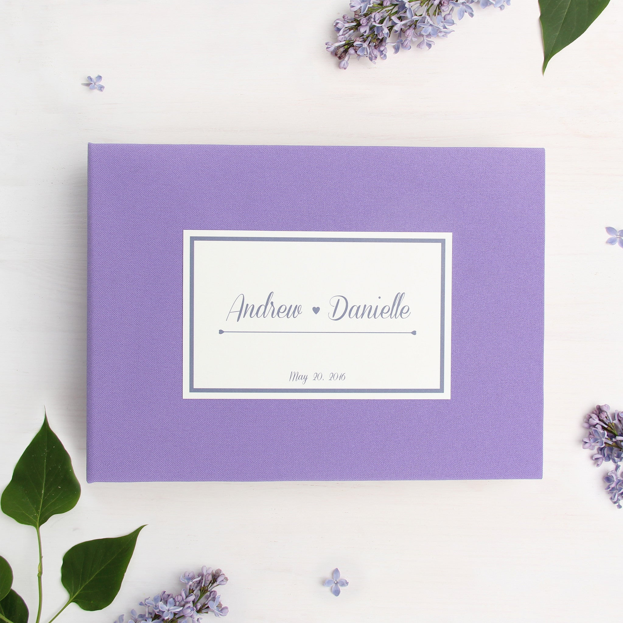 Instax Guest Book Wedding Sign in Book Album Lilac with Paper Label ...