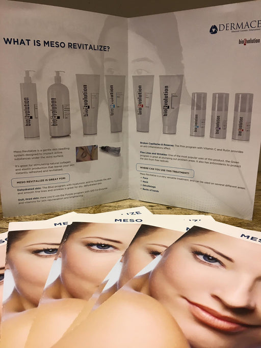 Meso Marketing Leaflets