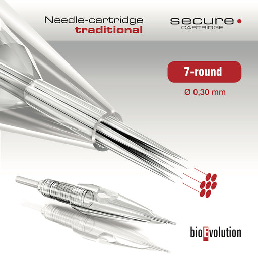 Secure 7 Round 0.30mm BioEvolution Cartridge