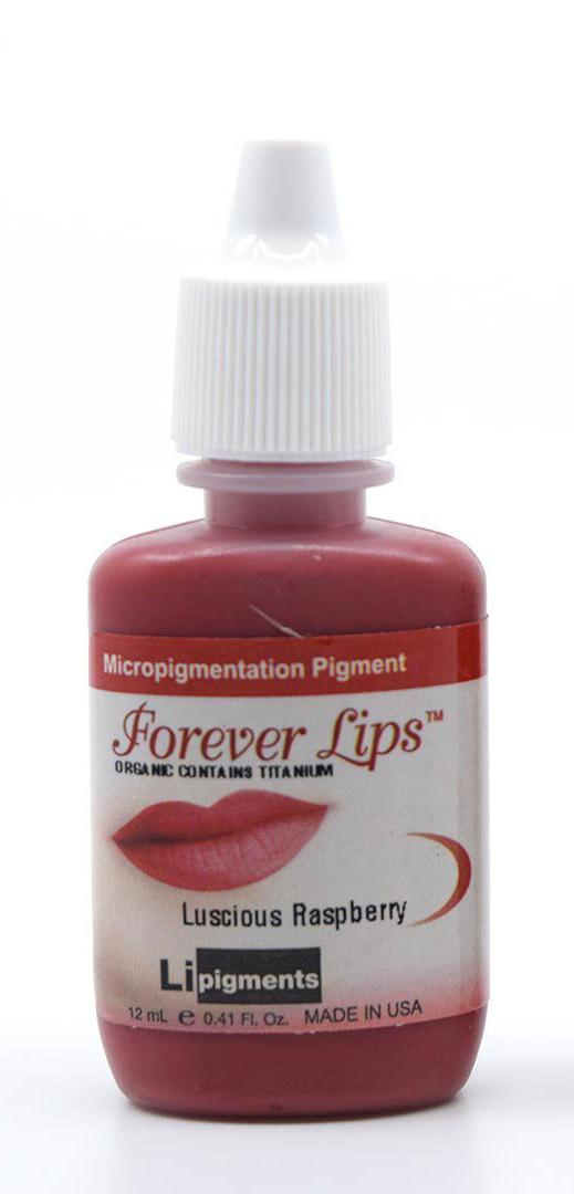 Luscious Raspberry (12ml) Li Forever Lips Semi Permanent Makeup Pigment