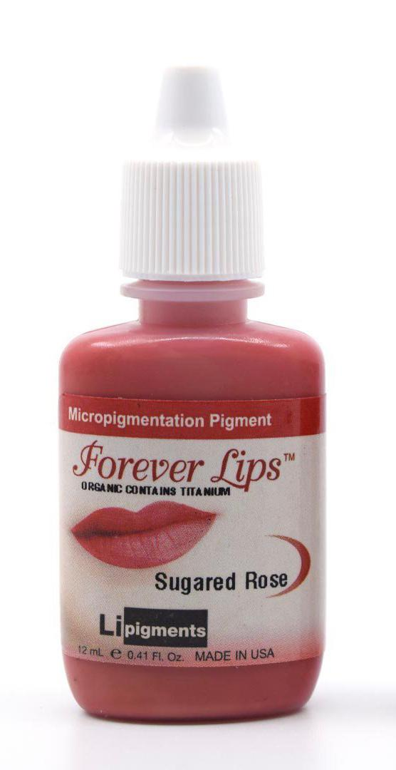 Sugared Rose (12ml) Li Forever Lips Semi Permanent Makeup Pigment