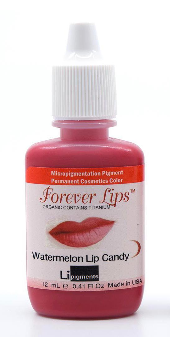 Watermelon Lip Candy (12ml) Li Forever Lips Semi Permanent Makeup Pigment