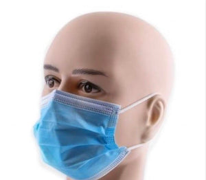 Surgical Mask Type IIR Fluid Repellent X 50,  VAT FREE
