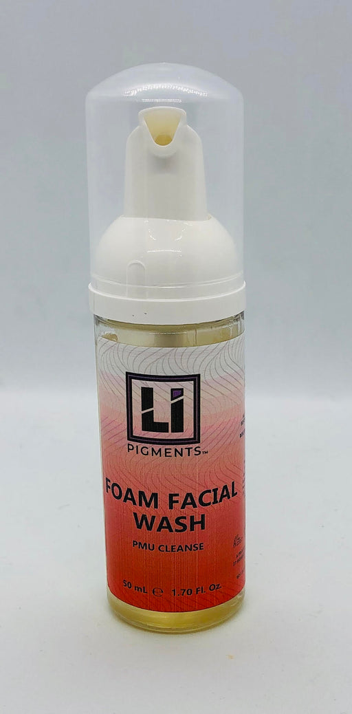SPMU li pigments pre cleanse facial foam wash