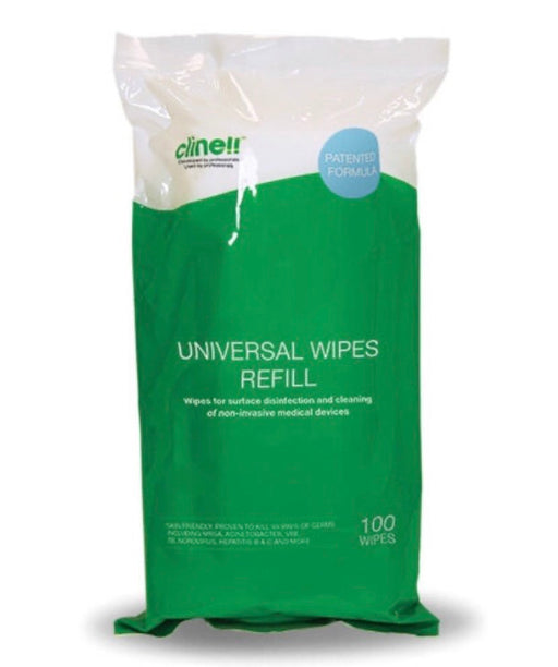 Clinell Universal Refill Wipes X 100