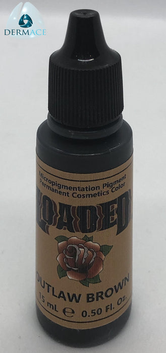 Outlaw Brown LOADED Semi Permanent Makeup Pigment