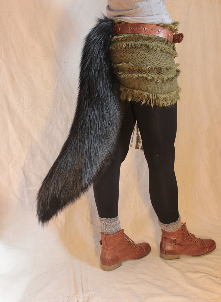 Black Wolf Tail