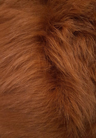 Rust Fox Faux Fur
