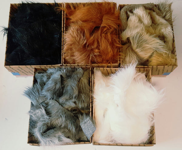 Scrap Fur by the Pound, Choice of Color