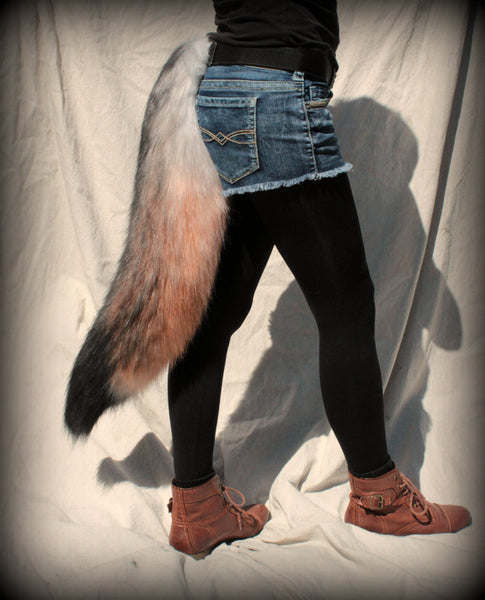 Timber Wolf Tail
