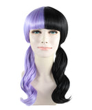 Melanie with Purple and Black Wavy style HW-1075