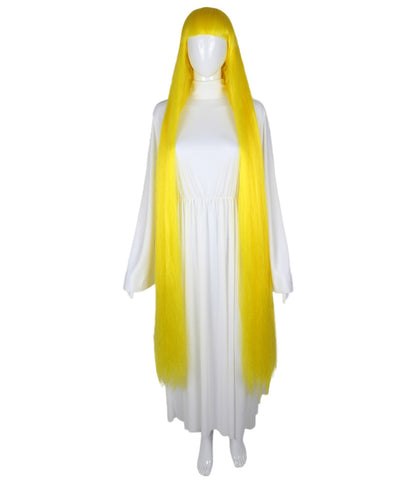 Extra Long Yellow Wig HW-1849