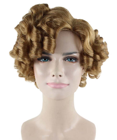 Brown Doll Curly Wig HW-1671