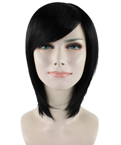 Women Short Black Wig HW-1072