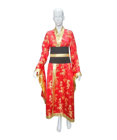 Adult Women's Deluxe Geisha Embroidery Costume HC-081