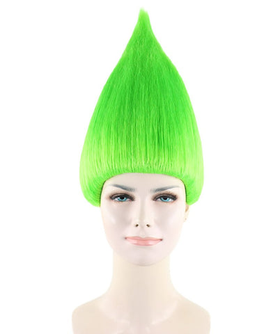 Women's Wig for Cosplay Lime Trolls Style HW-1360 -