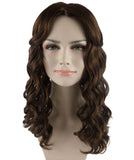 Wig for Cosplay Wonder Women Brown Wig HW-738