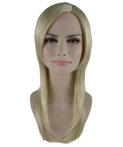 3 Layered Party Girl Adult Wig-Lt Blonde HW-582