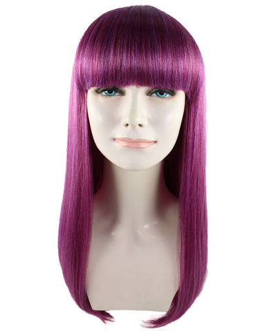 Adults Woman's Wig for Cosplay Descendants Mal HW-1418