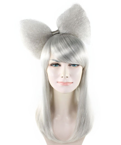 Grey Long Butterfly Wig HW-1181