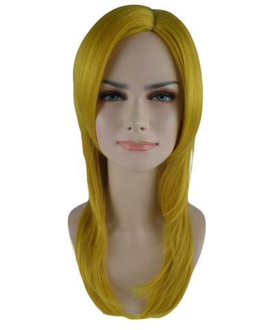 3 Layered Girl Party Adult Wig-Gold HW-586