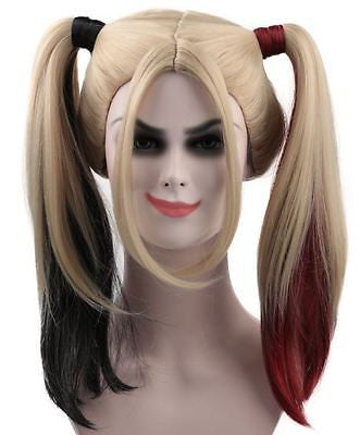 Super Power Beat Down - Harley Quinn Wig / Hair (Suicide Squad Style) | HD-1015 - The Hairdrobe