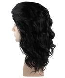 Wig for Cosplay Game of Thrones Jon Snow Black Curly HM-252