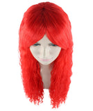 Red Curly Wig HW-1797