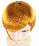 Adult Women Short Golden Brown Wig HW-1052