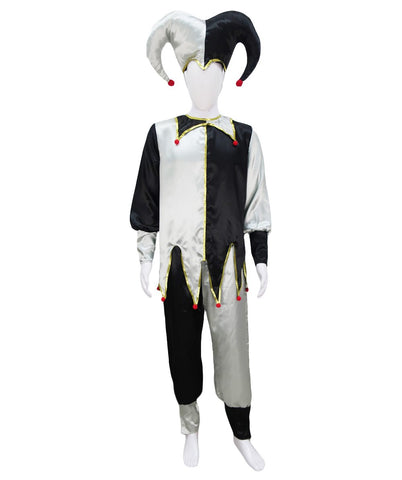 Adult Men's Evil Jester Costume HC-1036