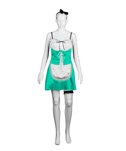 Adult Women's Green French Maid Costume HC-264